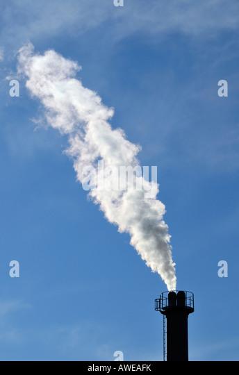 Smoking chimney - Stock-Bilder