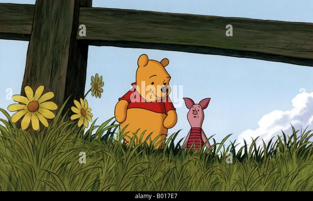 PIGLET' S BIG MOVIE  2003 Buena Vista/Disney cartoon - Stock-Bilder