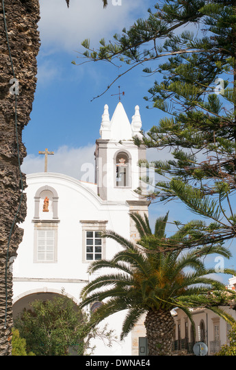 Church of São Paulo  Tavira Algarve  Portugal Europe - Stock Image