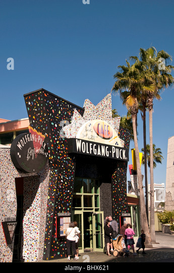 Wolfgang Puck Cafe Downtown Disney West  Orlando Florida FL celebrity chef restaurant - Stock Image