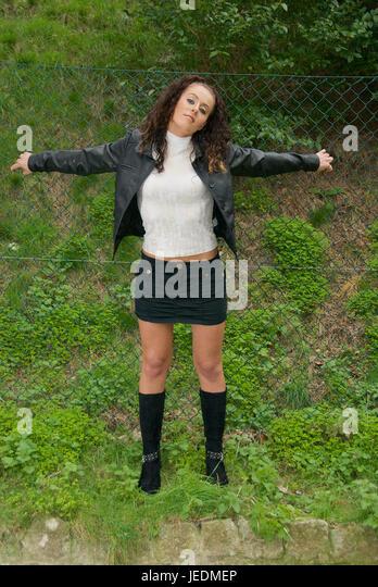 Mini Skirt Boots Stock Photos & Mini Skirt Boots Stock ...