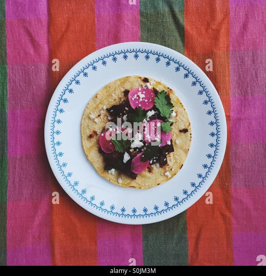 Mexican Taco - Stock Image