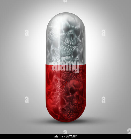 Prescription drug abuse concept as a social issue symbol for the addiction to pharmaceutical medication and the - Stock-Bilder