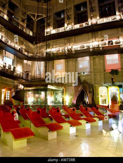 Museum of Cinema Mole Antonelliana Turin Italy - Stock Image