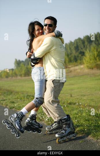 Mann flirten verliebt