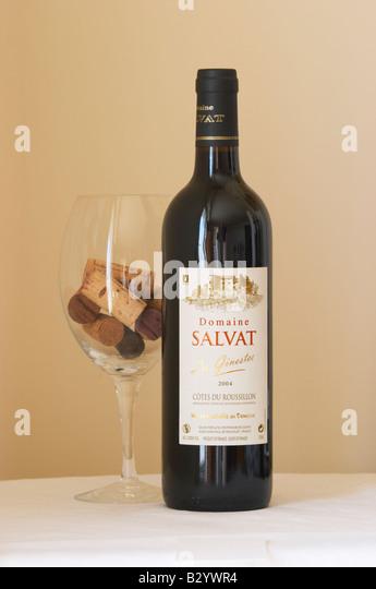 Doamine Salvat Les Ginestes. Roussillon, France - Stock Image