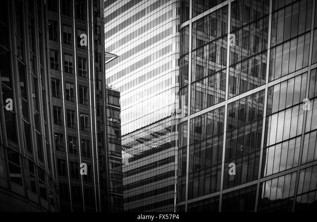 Contemporary architecture detail - Stock Image