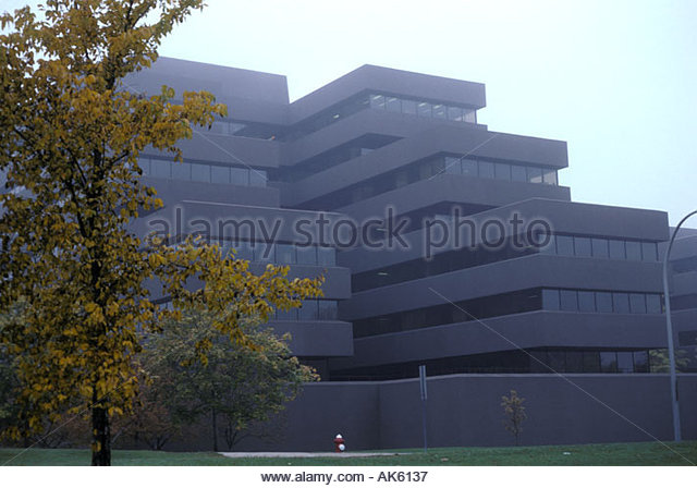 Lester B Pearson Building Ottawa Headquarters of External Affairs Department of Canadian Federal Government - Stock Image