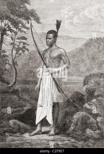 Chuma, David Livingstone's servant. - Stock Image