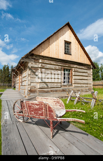 Fort Saint James National Historic Site, British Columbia, Canada - Stock Image