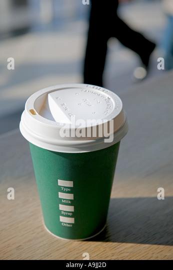 coffe on go - Stock-Bilder