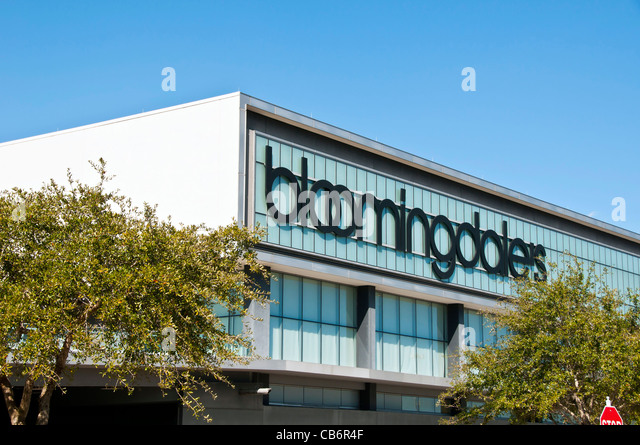 Orlando Florida,  Bloomingdales Mall at Millenia upscale shopping mall and popular tourist destination - Stock Image