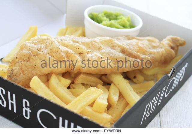British holiday chips stock photos british holiday chips for Terrace fish and chips