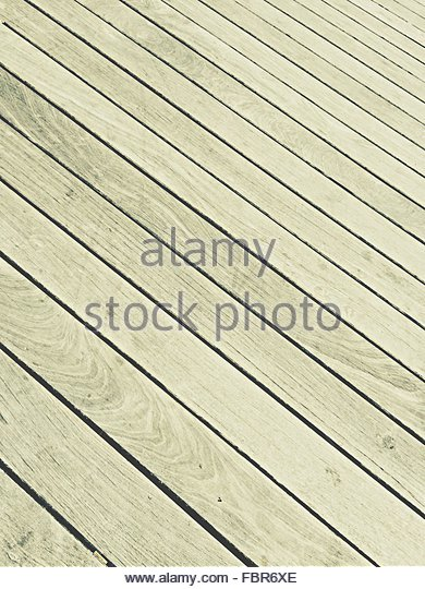 Full Frame Shot Of Wooden Plank - Stock-Bilder