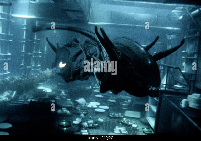 Alien: Resurrection / 1997 directed by Jean-Pierre Jeunet [Twentieth Century Fox Film Corpo] - Stock Image