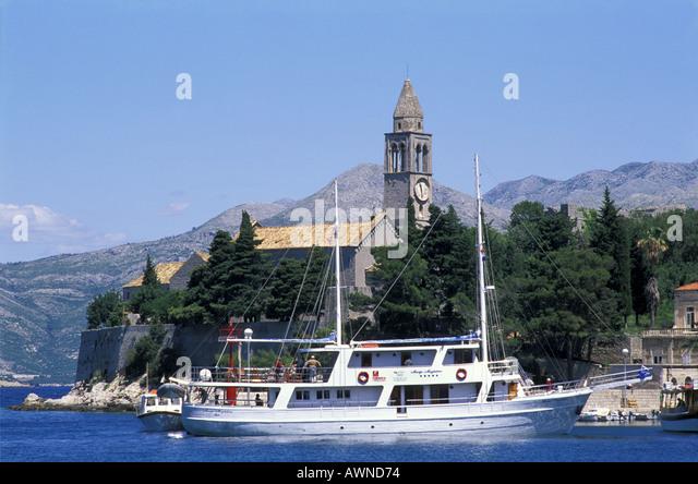 Lopud Island Croatia Ferry