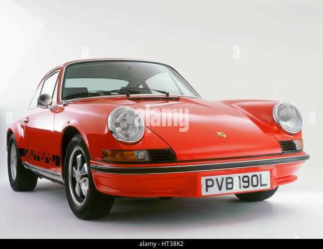 1973 Porsche 911 Carrera RS. Artist: Unknown. - Stock Image