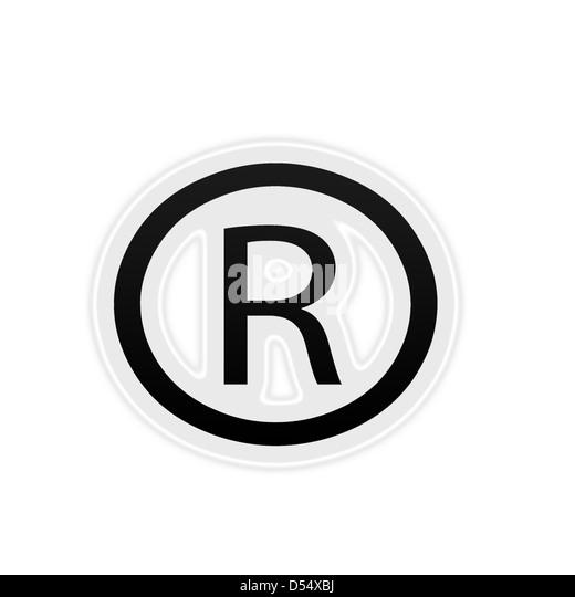 how to make registered trademark symbol