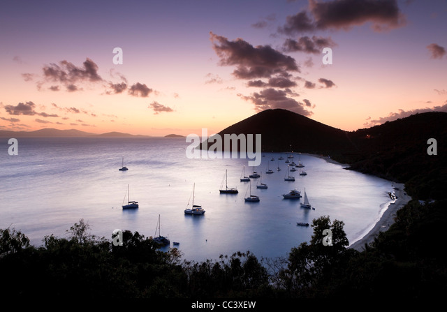 Caribbean, British Virgin Islands, Jost Van Dyke, White Bay - Stock-Bilder