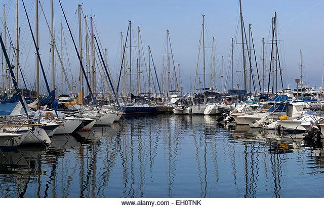 Marina of Antibes, Alpes-Maritimes - Stock Image