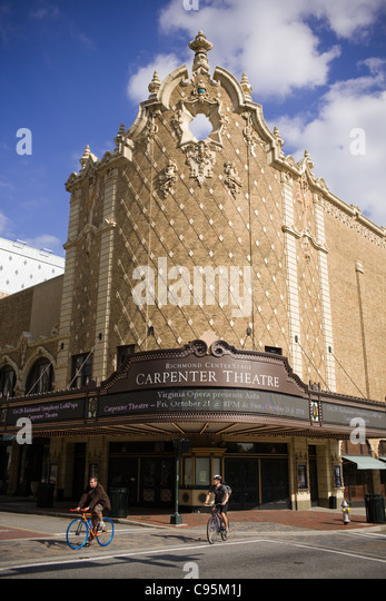 Carpenter Theater, Center Stage, Richmond, Virginia - Stock Image