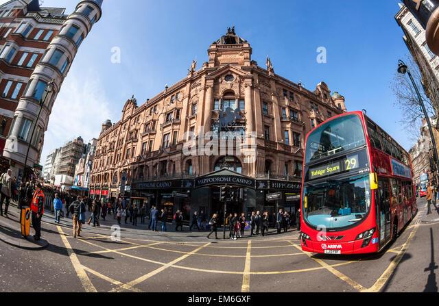 The Hippodrome Casino, Leicester Square, London - Stock Image