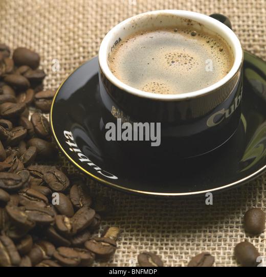 coffee Cubita - Stock Image