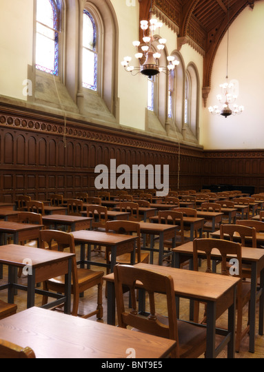 Victorian Foyer University : Large halls stock photos images alamy