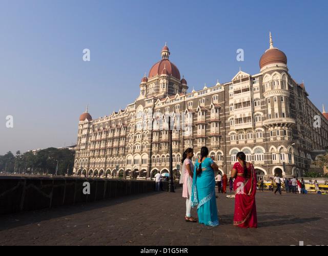 Taj Hotel Mumbai India - Stock Image