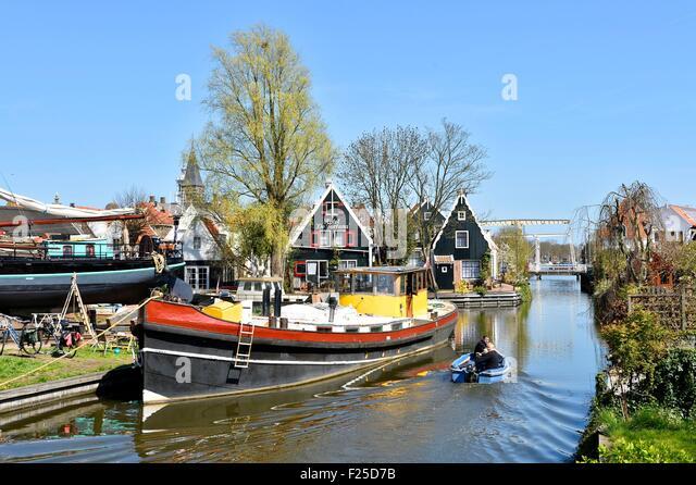 Netherlands, Northern Holland, Edam village - Stock Image