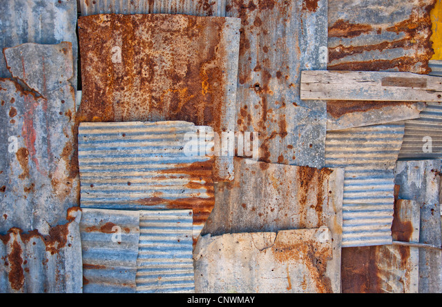Rusty Corrugated Iron Roof Stock Photos Amp Rusty Corrugated