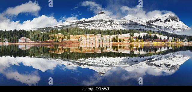 Molas Lake, San Juan Mountains, Colorado, USA - Stock Image