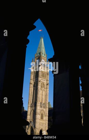 Peace Tower, Ottawa, Ontario, Canada - Stock-Bilder