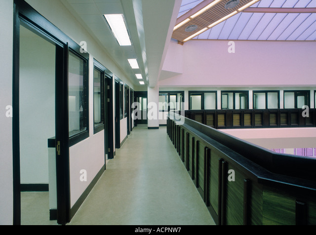 Interview rooms at Belmarsh Prison Woolwich - Stock Image