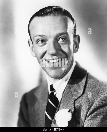 Fred Astaire - American dancer and actor - Stock-Bilder