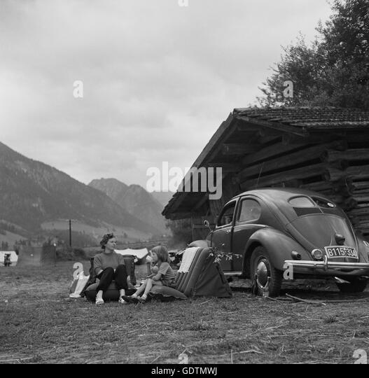 Volkswagen Dealers In Maine: Vw Beetle 1950s Stock Photos & Vw Beetle 1950s Stock