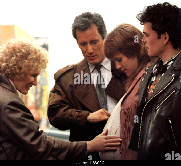 Die Second-Hand Familie, (IMMEDIATE FAMILY) USA 1989, Regie: Jonathan Kaplan, GLENN CLOSE, JAMES WOODS, MARY STUART - Stock Image