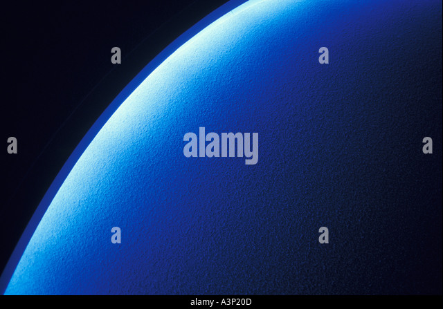 Blue material, long exposure - Stock Image