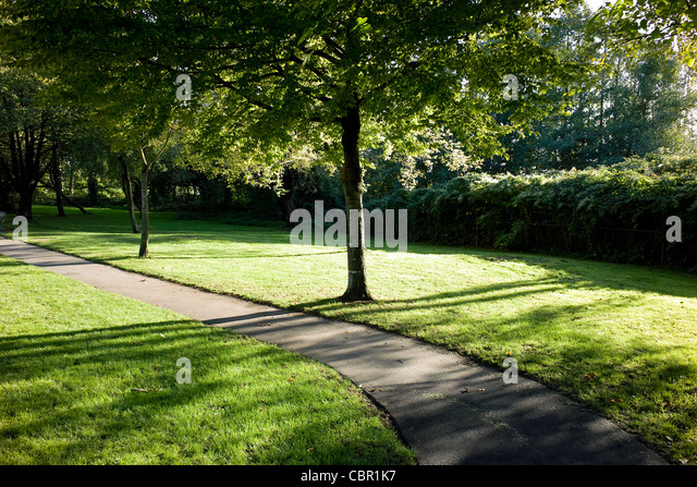 Park at Vancouver BC Canada - Stock Image