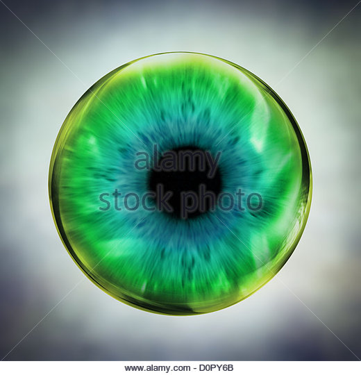 green eye - Stock-Bilder