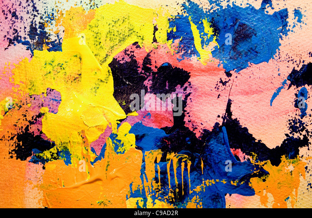 Art Painting #1 - Stock Image