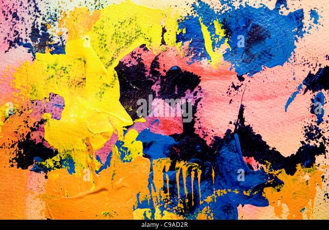 Art Painting #1 - Stock Image