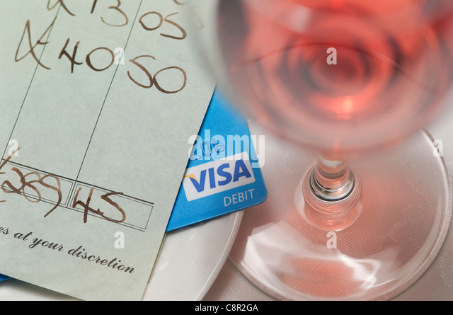 how to use a debit card at a restaurant