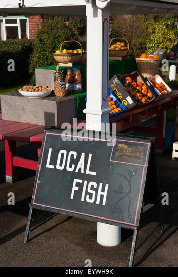 Fishmongers sign stock photos fishmongers sign stock for Local fish store