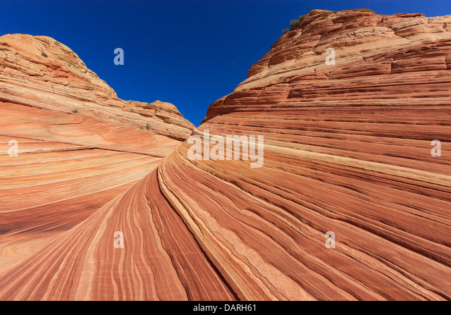 Rock formations in the North Coyote Buttes, part of the Vermilion Cliffs National Monument. This area is also known - Stock-Bilder