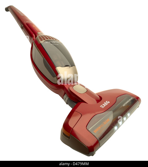 AEG lightweight vacuum cleaner - Stock Image