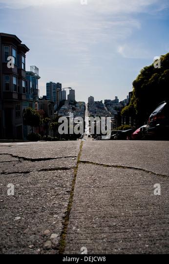 San Francisco streets. - Stock-Bilder