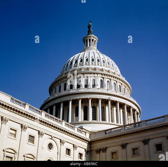 United States Capitol Building Washington D C - Stock Image