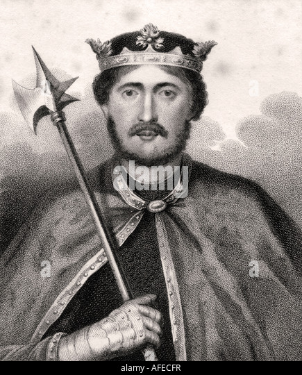 Richard I aka Richard The Lionheart English monarch 1157 1199 - Stock Image