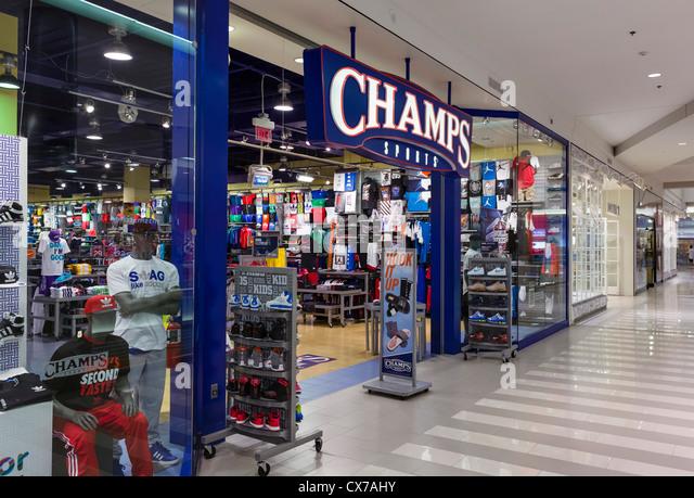 Champs Sports Fashion Show Mall Las Vegas